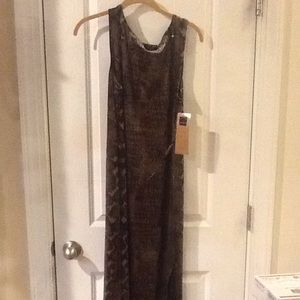 Carole little maxi dress Nwt
